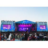Buy cheap hotselling Roadshows outdoor Rental P3.91/P4.81 led display screen, 4x3m live from wholesalers