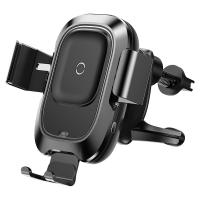 Wholesale Sensor Qi Car Wireless Charger Air Vent Mount Mobile Phone Holders with Intelligent Infrared from china suppliers