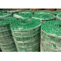 Wholesale Green PVC Coated Welded Wire Mesh Panels / Plain Weave Mesh For Railings from china suppliers