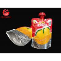 200ML Stand Up Bag With Spout / Food Material Juice Packaging Pouch