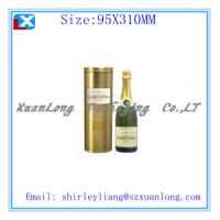 Quality luxury metal box for wine packing for sale