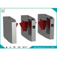 Wholesale CE Automatic Turnstiles Flap Barrier Gate Stainless Steel Card Reader Turnstile from china suppliers