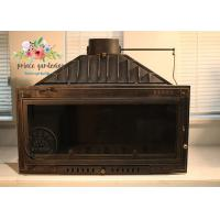 Wholesale Indoor Freestanding Cast Iron Fireplace Hand Carved And Polished from china suppliers
