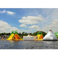 Wholesale Waterproof Inflatable Water Park For Sea , Buy Floating Water Park  Equipment from china suppliers