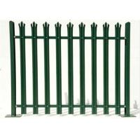 Wholesale Durable W Section Green Palisade Fencing , Single Point Road Security Fence from china suppliers