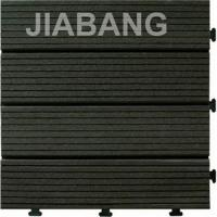 Wholesale WPC decking outdoor tile with PE plastic base(high quality) from china suppliers