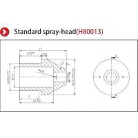 Buy cheap Precise Nozzle Ionizer Accessories , Ionizing Air Nozzle Standard Spray Head from wholesalers