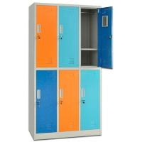 6 Swing Door Metal Steel Iron Locker/Wardrobe/Cabinet