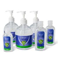 China Hand Sanitizer Gel Rinse Free 75% Alcohol Antibacterial 500ml Good Antiseptic CE FDA MSDS Certification on sale