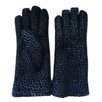 Wholesale 2018 sheepskin Fur Fingers Lattice Nappa Leather ladies gloves from china suppliers