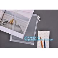 Custom transparent pp slider bag with air hole, writable zip lock bags with white panel, slider bags with zipper lock for sale