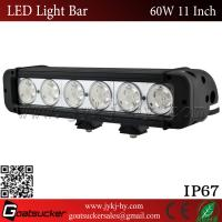 Wholesale Waterproof 6500K 4350LM pencil or flood beam 60W single row crees LED light bars wholesale from china suppliers