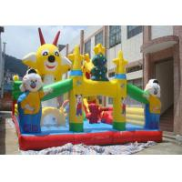 Wholesale Customized Cartoon Inflatable Toddler Playground With Durable PVC Tarpaulin from china suppliers