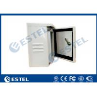 Wholesale IP55 Single Wall Pole Mounted Cabinet / Enclosure/ Small Metal Box from china suppliers