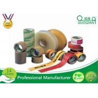 Wholesale Logo Print Bopp Adhesive Tape Acrylic Adhesive Glue For Commercial Package from china suppliers