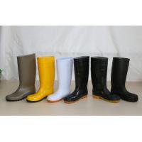Wholesale PVC Working Safety Boots with Steel Toes, Steel Mid-insole from china suppliers