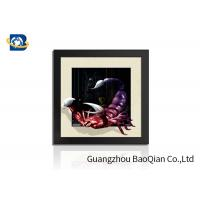 Wholesale PVC / MDP Frame 3D 5D Pictures Different Animal Patterns Wall Decoration from china suppliers