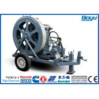 Wholesale Fiber Cable Stringing Equipment Overhead Transmission Line Stringing Machine Puller from china suppliers