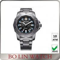 Wholesale Fashion Army Style Stainless Steel Military Watches For Men Sapphire Glass from china suppliers