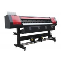 Buy cheap Stable Quality 1.8m Eco Vinyl Printing Machine with High Resolution from wholesalers