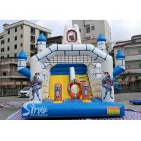 Outdoor Inflatable Jumping Castle N Bounce House With Slide For Sale From China Factory for sale