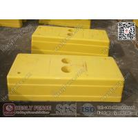Wholesale Yellow Color Temporary Fence Feet Injection Molding | China Temp Fence Feet Supplier from china suppliers