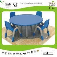 Wholesale Plastic Kids Round Table and Chair (KQ10183C) from china suppliers