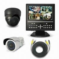Wholesale 10.2-inch 4CH LCD DVR with Built-in Color CCD Camera and Lens from china suppliers