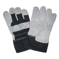 Custom logo synthetic leather work glove ZMA0333