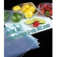 Wholesale Slide Seal Freezer Bags, Gallon, Quart, American value, drug store, ziploc, zipper seal from china suppliers