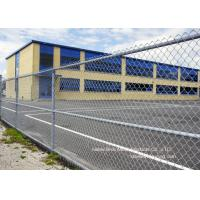 Wholesale Gal. Chain Link Fencing / Woven Diamond Shape Mesh Fence For Farm from china suppliers