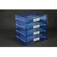 Wholesale Blue Jewellery Display Drawer Acrylic Storage Trays Bracelet Rack Transparent from china suppliers