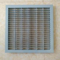 China Steel Slant Perforated Raised Floor Panel for sale