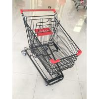 Buy cheap 125 L Supermarket Shopping Trolley With 4 Swivel Flat Casters , 941 X 562 X from wholesalers