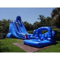 Wholesale Commercial Grade 32ft Tall Cyclone Bouncy Water Slides Two Sliding Lanes from china suppliers