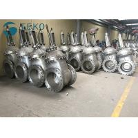 Wholesale API600 Trim Heavy Duty Metal Seated Wedge Gate Valve With Flange End from china suppliers