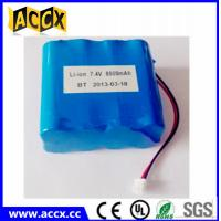 Wholesale 2S4P 18650 7.4v 8800mah li-ion battery pack for communications equipment from china suppliers