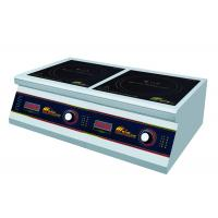 Wholesale Commercial Two Burner Induction Cooktop , Durable Double Induction Cooker from china suppliers