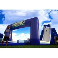 Wholesale Custom Slip N Slide Inflatable Blue Or Red Inflatable Water Slide For Adult from china suppliers