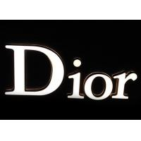 Buy cheap Custom Dior Light Up Sign Letters ,  LED Commercial Advertising Luminous 3D Plastic Letters from wholesalers