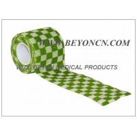 Wholesale Cohesive Bandage Self Adhesive For Human Vet Joints Immobilization , Elastic from china suppliers