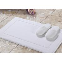 Wholesale Sanitized Logo Hotel Non Slip Bath Mat / White Bathroom Floor Mats from china suppliers