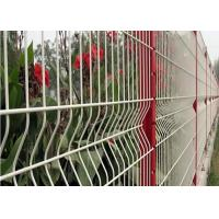 Wholesale 3 D Welded Folding Wire Mesh Fence / Bending Garden Security Fencing from china suppliers
