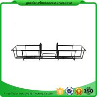 Wholesale 24 Inch Black Hanging Garden Baskets With Adjustable Hanging Brackets Product Dime 7.7 x 24 x 5 inches 1.9 pounds from china suppliers