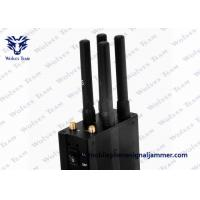 Wholesale Selectable Handheld All GSM CDMA 3G 4G LTE Mobile Phone Signal Jammer from china suppliers