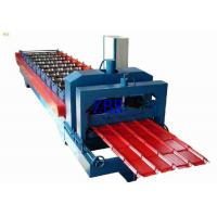 Wholesale PPGI PPGL Glazed Steel Roof Tile Roll Forming Machine 70mm Shaft Diameter from china suppliers