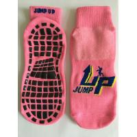 China The Professional Socks For Indoor Trampoline Sports Professional Cotton Trampoline Socks on sale