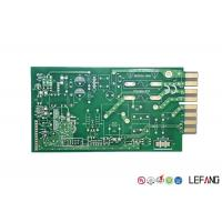 Buy cheap Green Solder Printed Circuit Board PCB 4 Layers 1.6mm Thickness For Communicatio from wholesalers