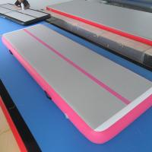Quality 3M Air Track Gymnastics Mat / School Or Gym Tumble Track 0.55mm PVC for sale