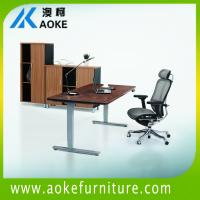 China 600-1250mm height adjustable computer tables for sale